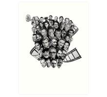 All directors films Art Print
