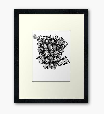 All directors films Framed Print