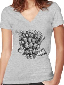 All directors films Women's Fitted V-Neck T-Shirt