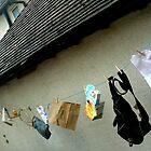 Washing Line Outside by Rosanna Jeffery