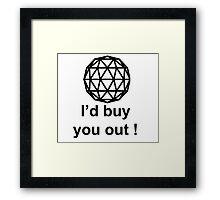 The Crystal Maze  Framed Print