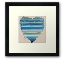 The Unbecoming - Abstract Heart II Framed Print
