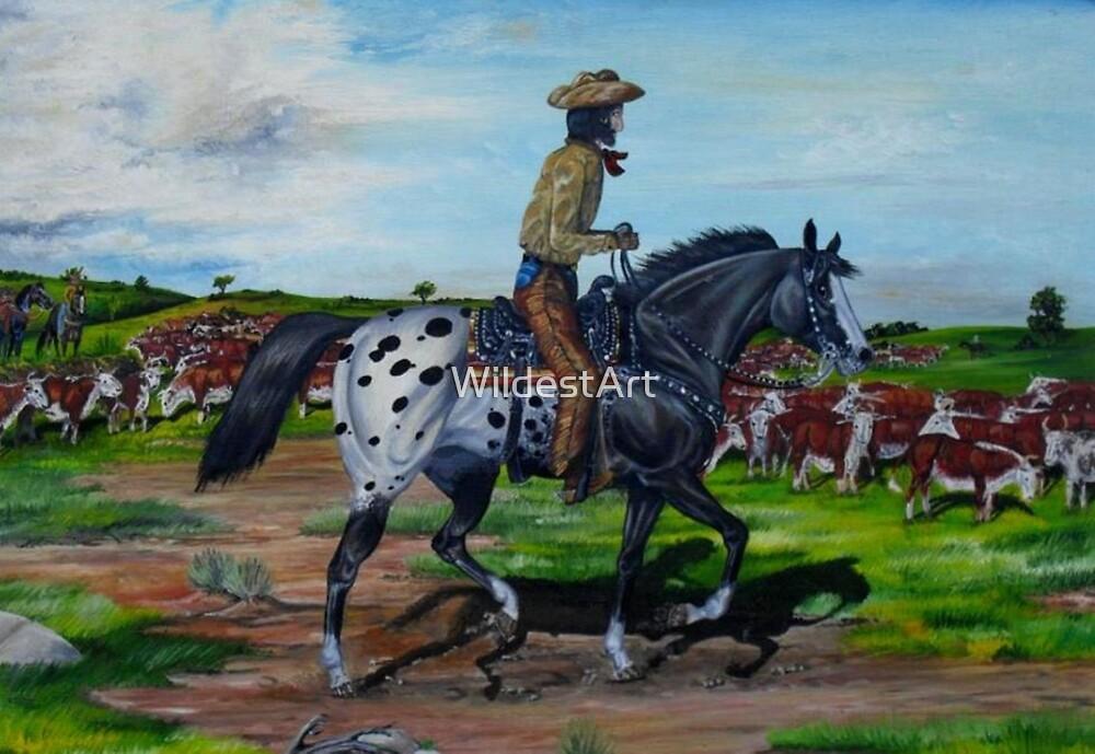Surveying The Herd by WildestArt