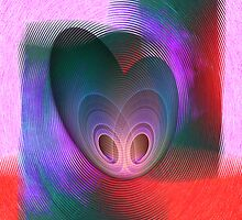 Fingerprint of a heart by CanDuCreations