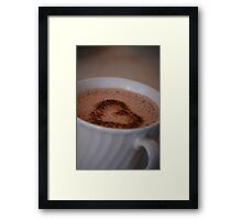 Hot Chocolate Love Framed Print
