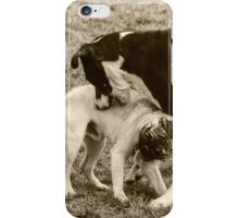 Yes! That's the Spot! Chew Right There! iPhone Case/Skin