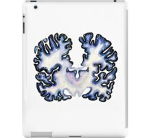 Galaxy Nissl Stain Brain iPad Case/Skin