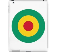 Guinean Air Force - Roundel iPad Case/Skin