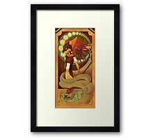 Down This Path Framed Print