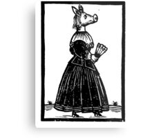 Miss Piggy - Old Style Metal Print