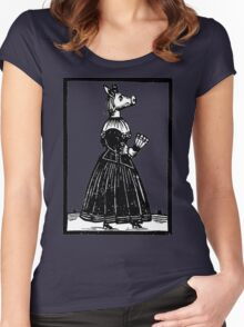 Miss Piggy - Old Style Women's Fitted Scoop T-Shirt