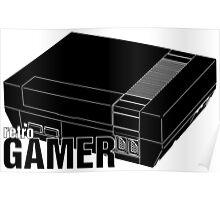 Retrogamer - Console Silhouette Poster