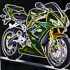 Triumph Daytona 675 by Jan Carlton