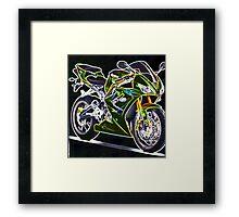 Triumph Daytona 675 Framed Print