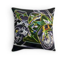 Triumph Daytona 675 Throw Pillow
