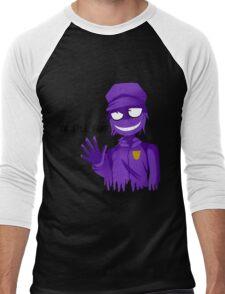 Purple Guy Men's Baseball ¾ T-Shirt