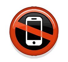 No Mobile Phones Apple / WhatsApp Emoji by emoji