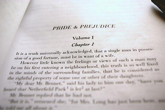 Pride & Prejudice by BayleeCook