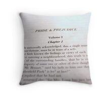 Pride & Prejudice Throw Pillow