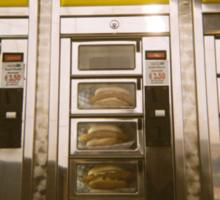 Holga Burgers Sticker