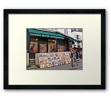 Busy Corner Framed Print
