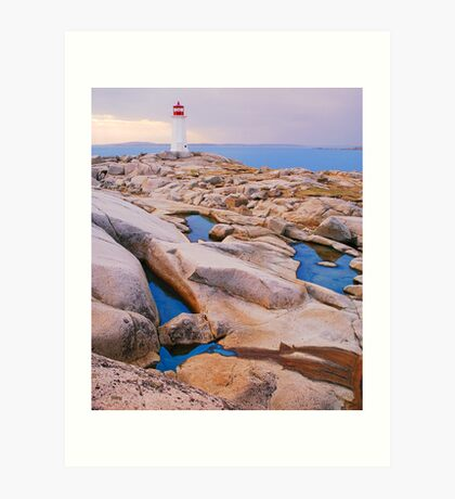 The Light at Peggy's Cove Art Print