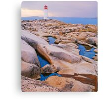 The Light at Peggy's Cove Canvas Print