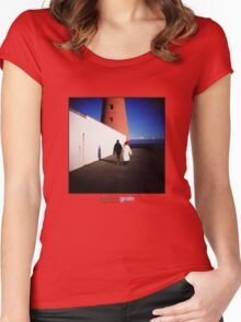 Holga Lighthouse Women's Fitted Scoop T-Shirt