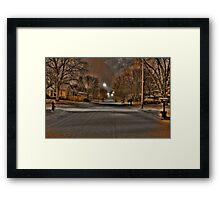 Our Street Framed Print