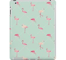 Retro Flamingo Bird Background iPad Case/Skin