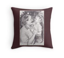 Laura and Dale Throw Pillow