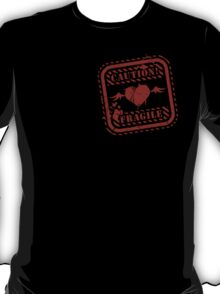 CAUTION! Dreamer Heart Inside T-Shirt
