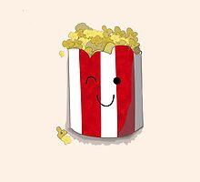 Poppin' Popcorn by Prettyinpinks