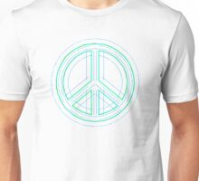 Peace Sign Symbol Abstract 1 Unisex T-Shirt