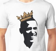 OBAMA CROWN**BLK & GOLD  Unisex T-Shirt