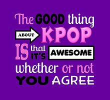 GOOD THING ABOUT KPOP - PURPLE by Kpop Seoul Shop