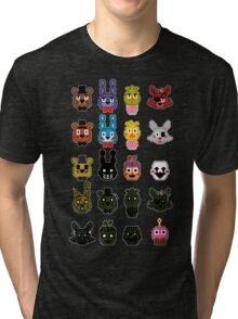 5 More Nights At Freddy's Tri-blend T-Shirt