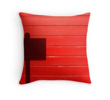 Street Sign Shadow, San Juan, Puerto Rico Throw Pillow