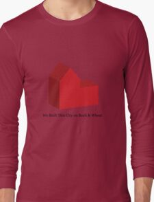 We Built This City on Rock & Wheat Long Sleeve T-Shirt