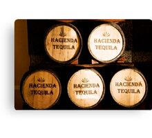 Hacienda Tequila Canvas Print
