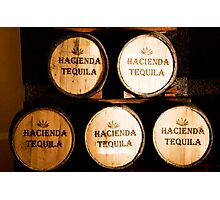 Hacienda Tequila Photographic Print