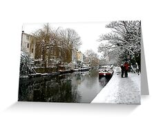 Regent Canal  Greeting Card