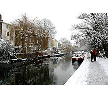 Regent Canal  Photographic Print
