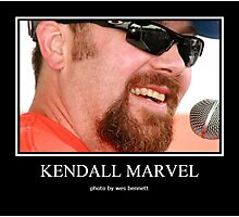 KENDALL MARVEL STAGE PORTRAIT2 Photographic Print