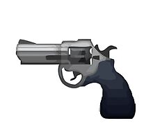 Pistol Apple / WhatsApp Emoji by emoji