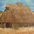 Old Hay Barn by KenLePoidevin