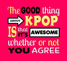 GOOD THING ABOUT KPOP - PINK by Kpop Seoul Shop