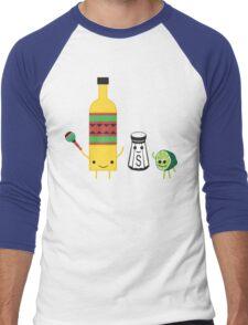 Tequila BBFs Men's Baseball ¾ T-Shirt
