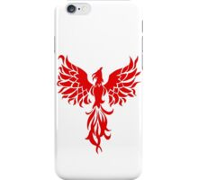 Red Phoenix iPhone Case/Skin
