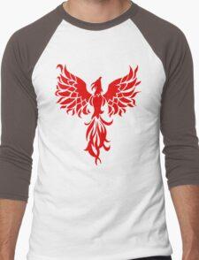 Red Phoenix Men's Baseball ¾ T-Shirt